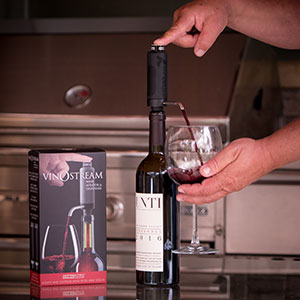 VinOstream Wine Aerating & Dispenser