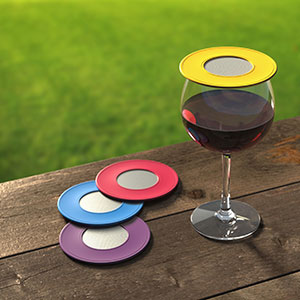 Ventilated Wine Glass Drink Top Covers